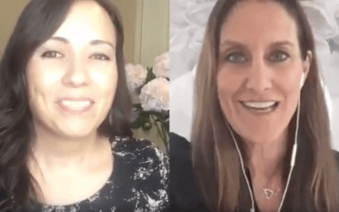 Finish your year strong! Amy chatting with Kerry Tepedino
