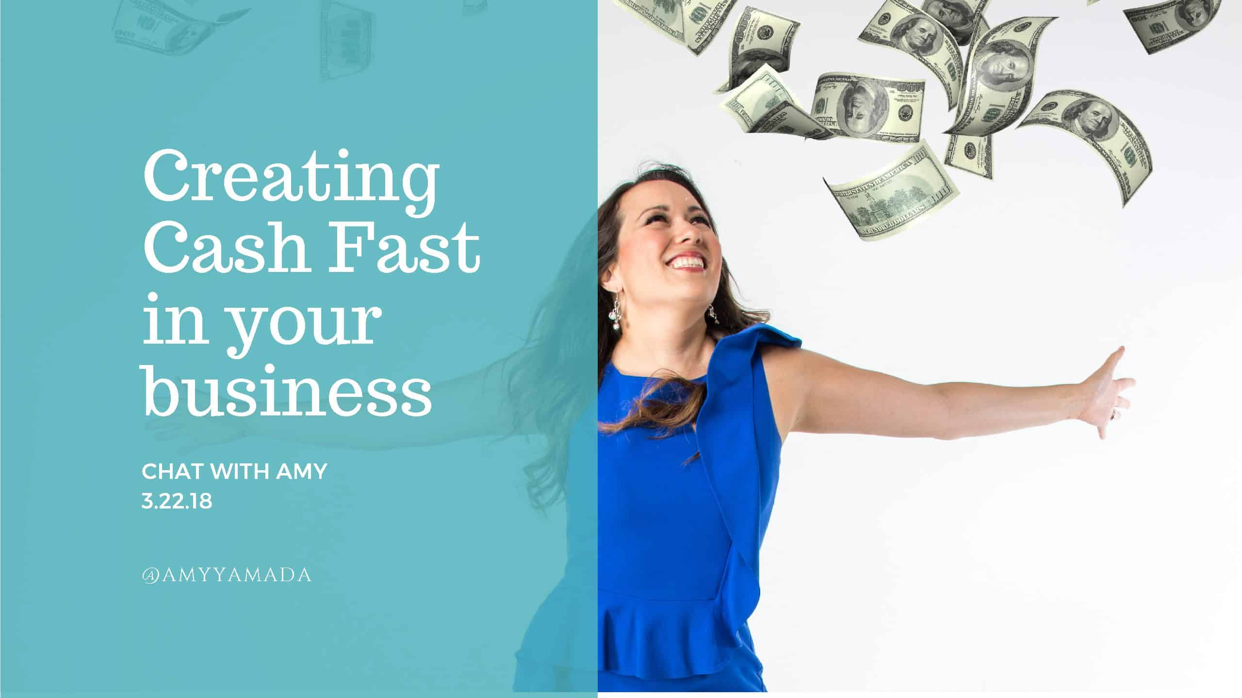 Creating cash FAST in your business