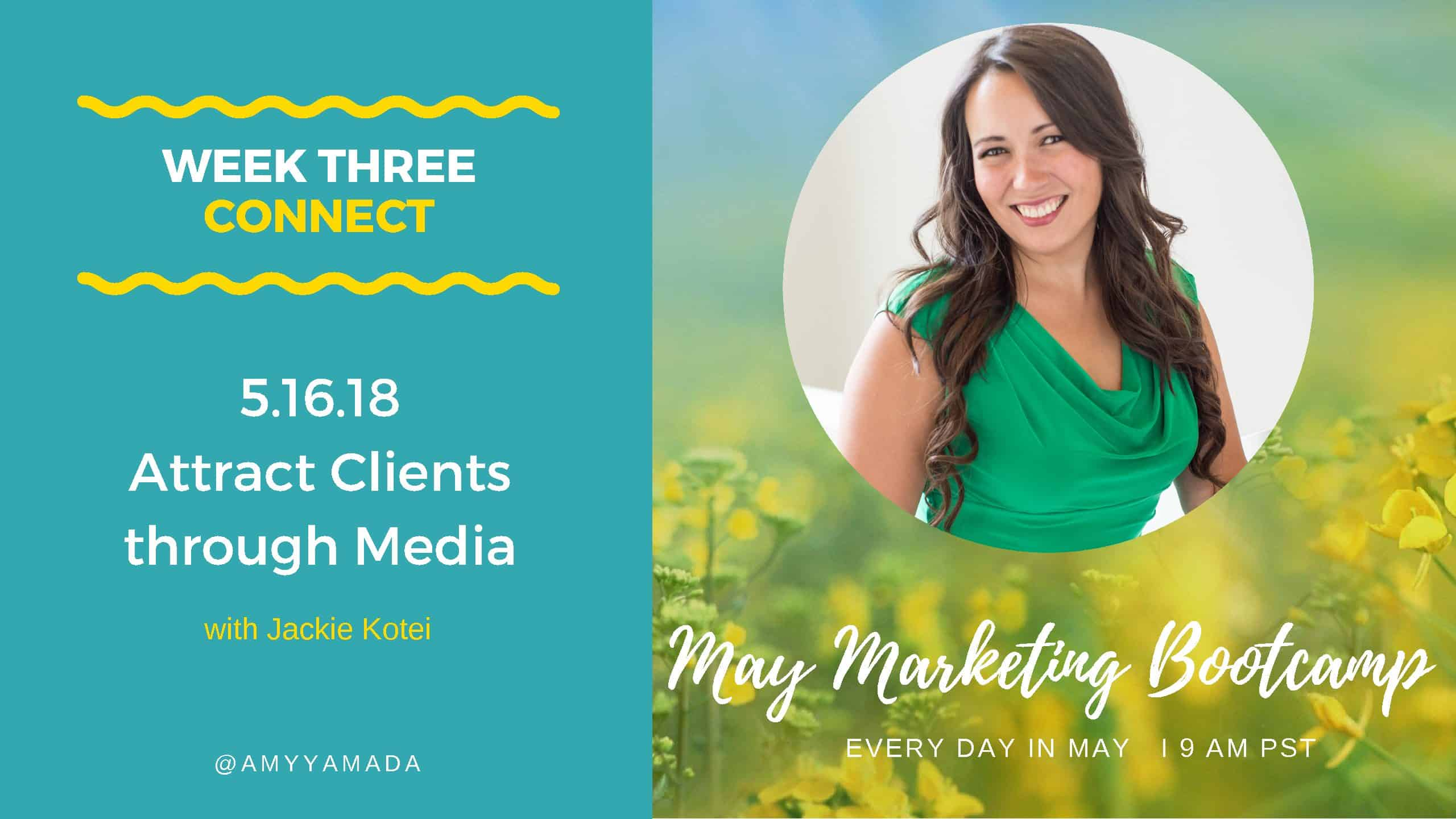 Attract Clients through Media – with Jackie Kotei