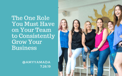 The One Role You Must Have on Your Team to Consistently Grow Your Business